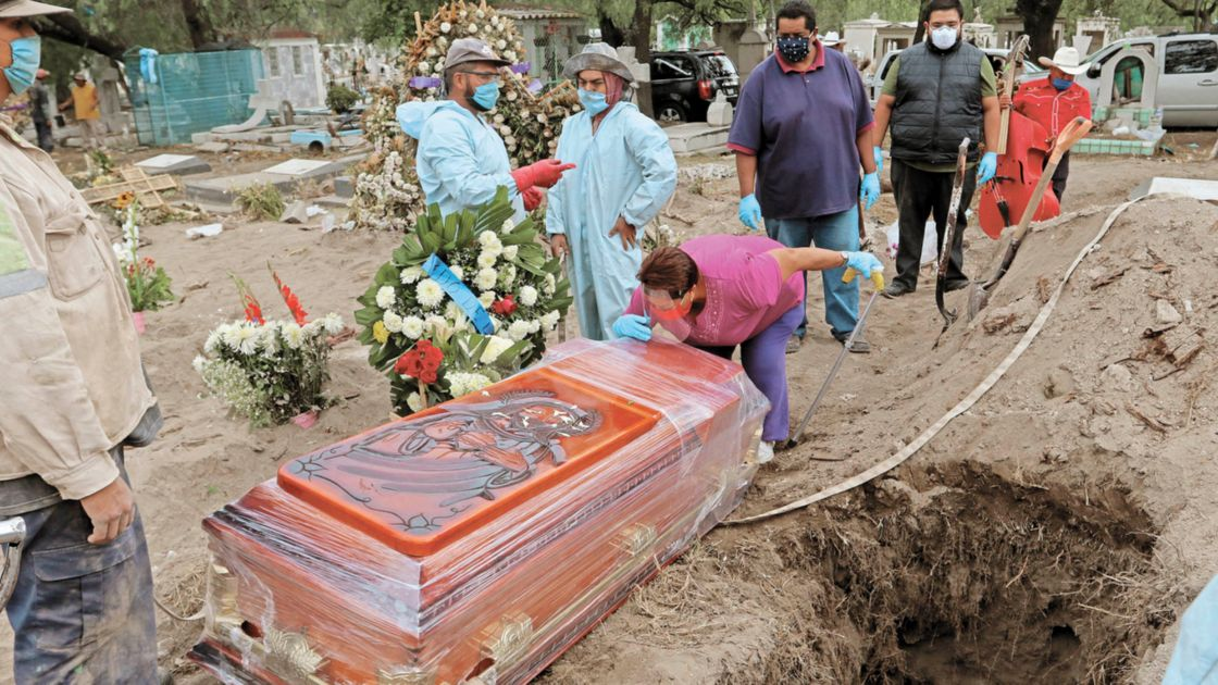 Estiman 600,000 muertes por Covid-19 en México
