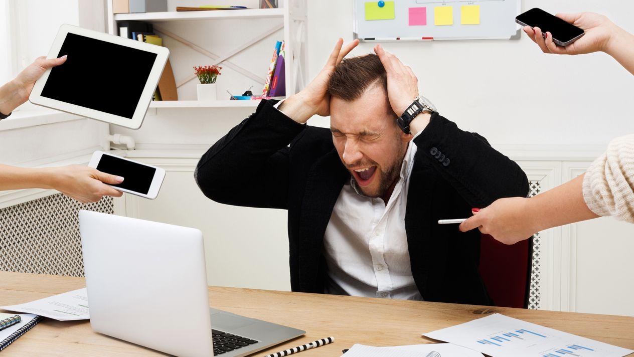 Estrés laboral puede ocasionar enfermedades mentales