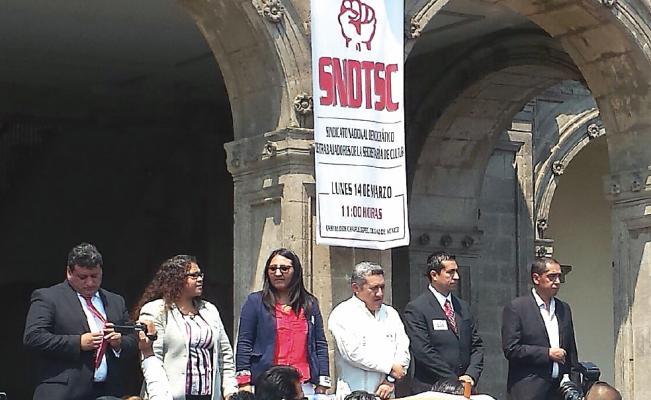 Expresa SNDTSC a AMLO su preocupación por el traslado de la Secretaria de Cultura a Tlaxcala