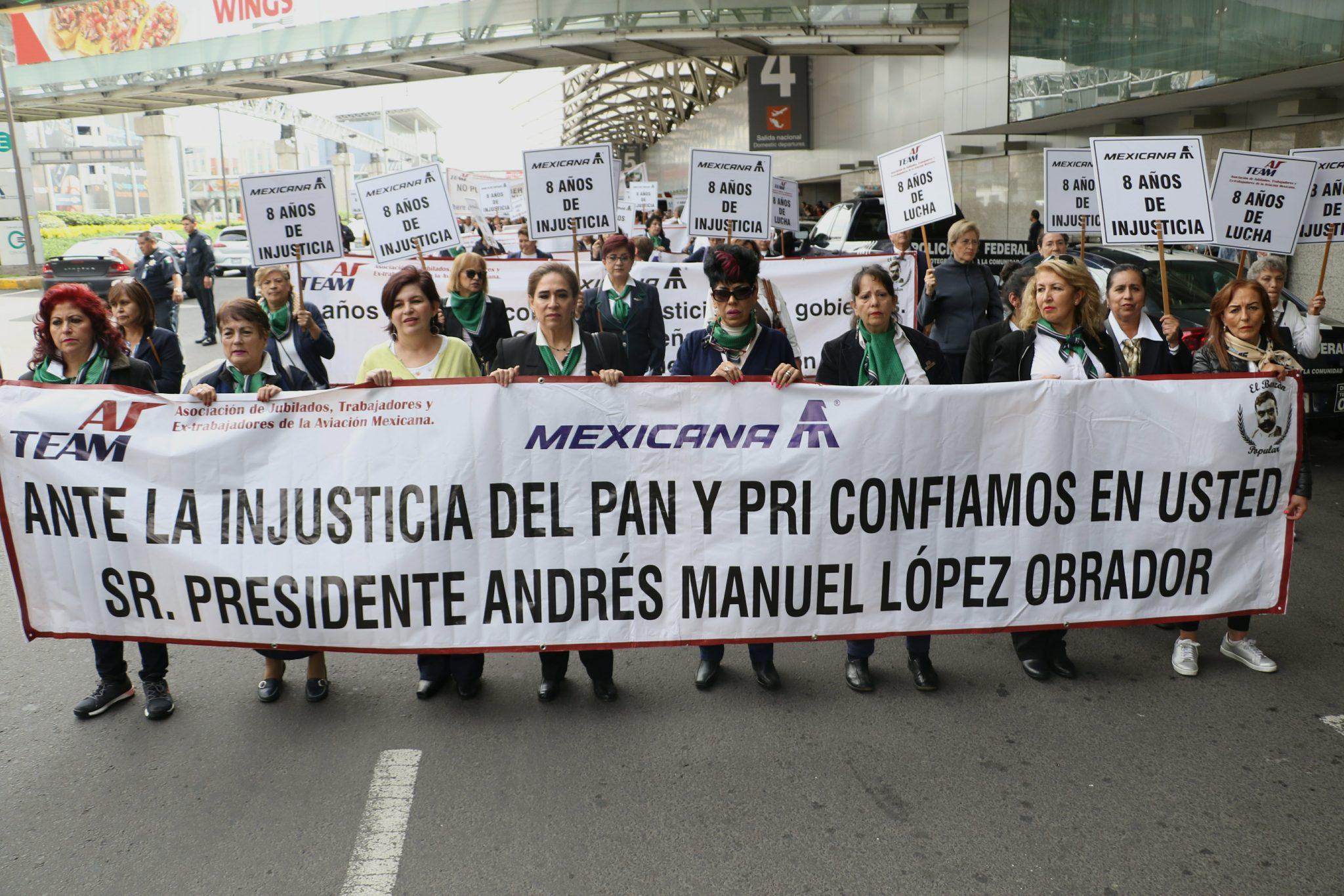 Han fallecido desde 2010, 28 trabajadores jubilados de Mexicana