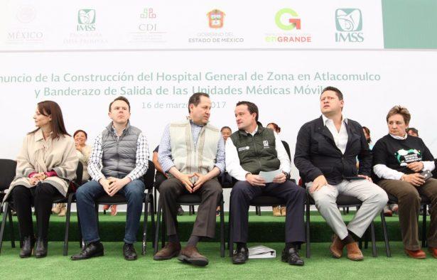 Hospital del IMSS en Atlacomulco beneficiará a 200 mil derechohabientes