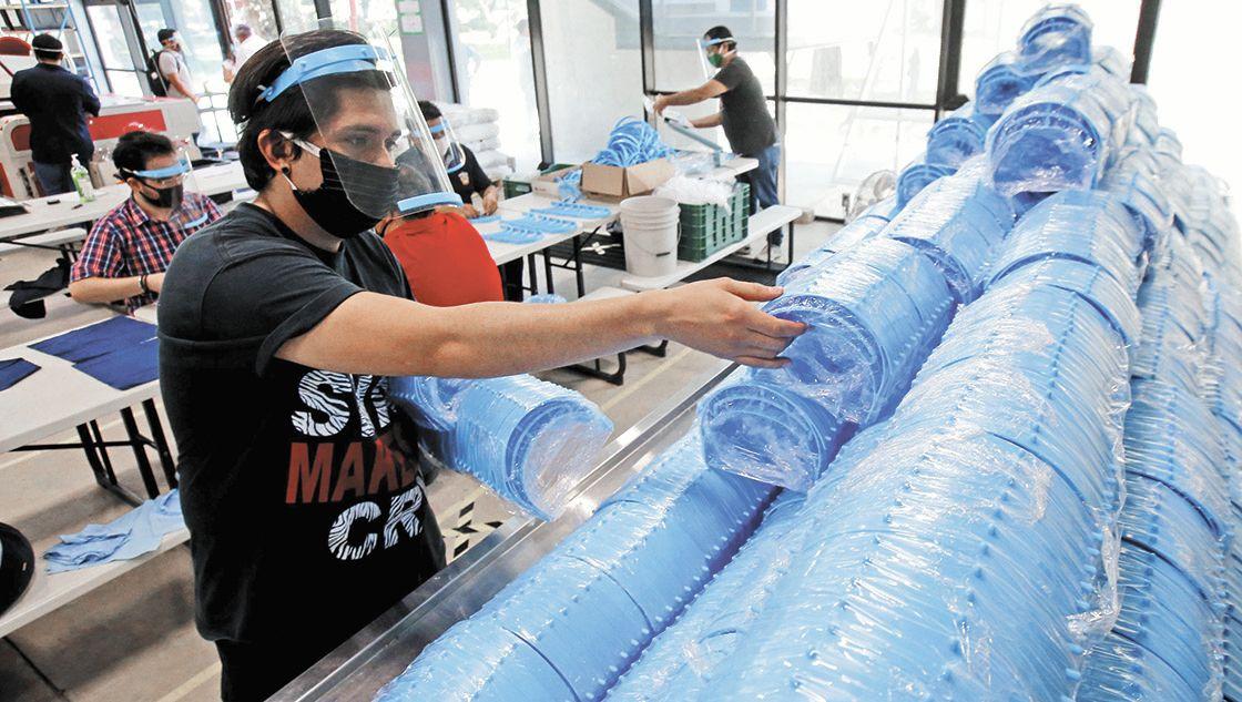 Industria manufacturera casi recupera los trabajos perdidos por la pandemia