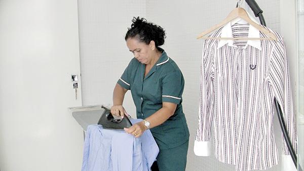 Los trabajadores domésticos, sin seguridad social