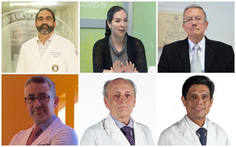 Mexicanos que buscan una cura para el covid-19