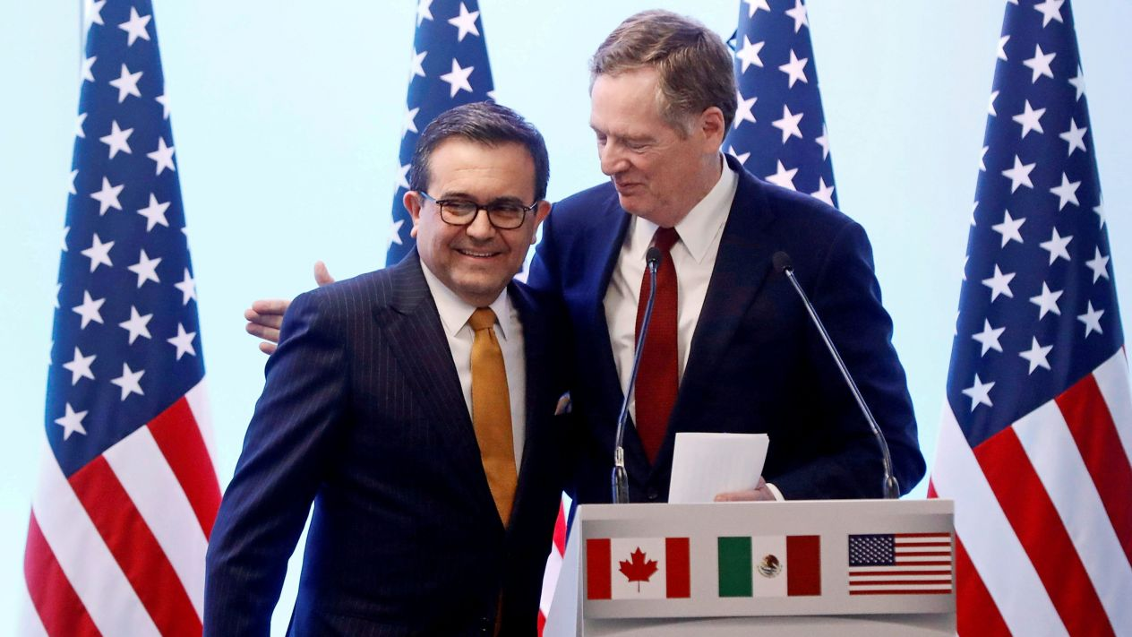 México y EUA generan puentes de TLCAN