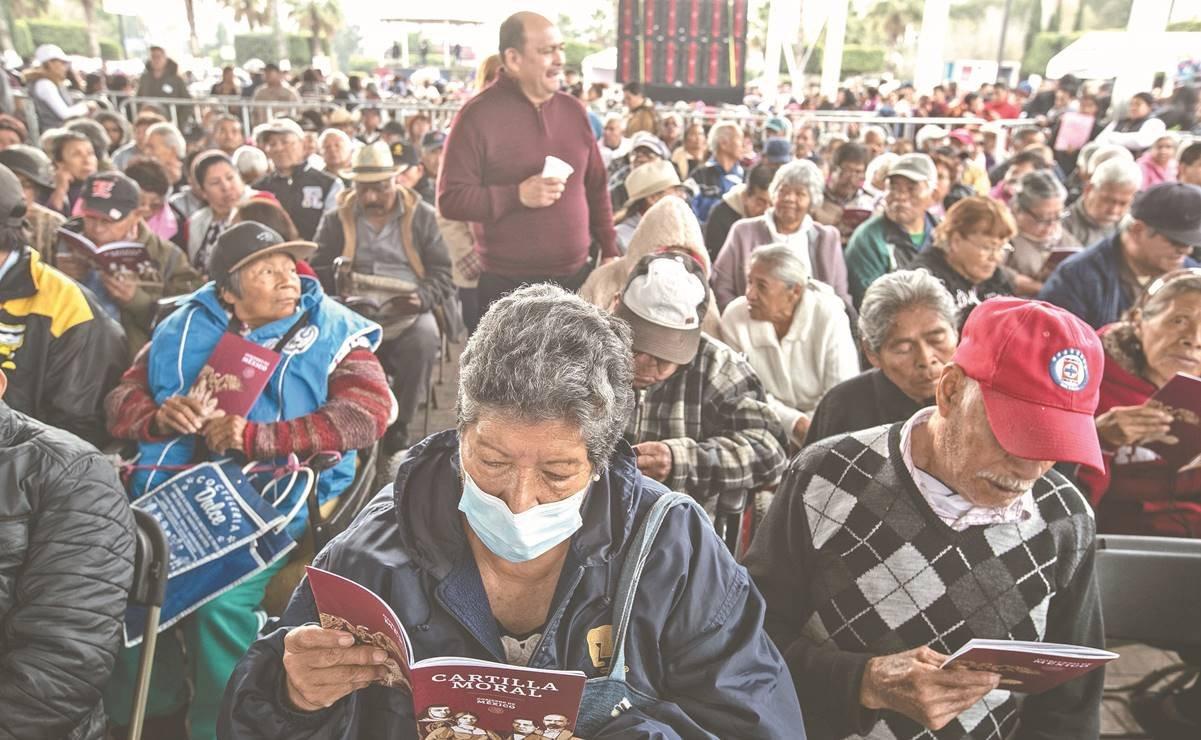 Pensión a adultos mayores enfrenta rezagos: Coneval