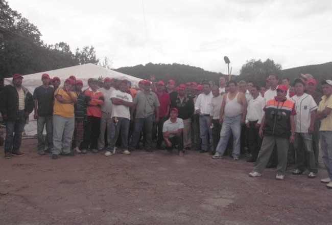 Prevalece conflicto en minera San Martín, Sombrerete