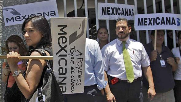 Relanzar a Mexicana como cooperativa solo convence al 1% de los extrabajadores