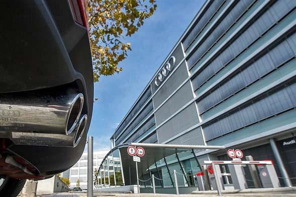 Retrasa Audi producción y da licencia a 10 mil