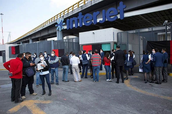 Solicita Interjet declarar huelga como inexistente