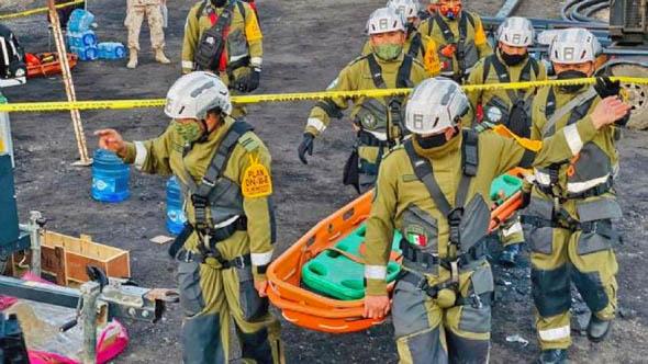 Trabajaremos hasta rescatar a los mineros que faltan, ojalá con vida: AMLO sobre accidente en Coahuila