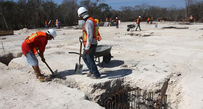 Verificará STPS condiciones de obreros en construcción